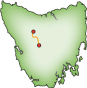 Overland-Track-Map