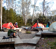 Wilderness Expeditions Camp Site